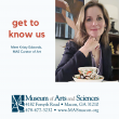 Get To Know Us: Meet Kristy Edwards, MAS Curator of Art